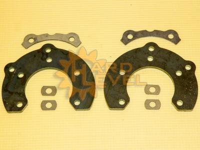 Установочный комплект задних дисковых тормозов на автомобили УАЗ, мосты тимкен / спайсер, под суппорт ВАЗ - HL-3151-2310