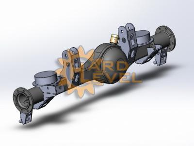 Кронштейн установки мостов Volvo C303 (Laplander) на TOYOTA в разборе - HL-TOY-1610