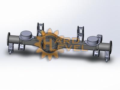 Кронштейн установки мостов Volvo C303 (Laplander) на TOYOTA в сборе - HL-TOY-1610СБ