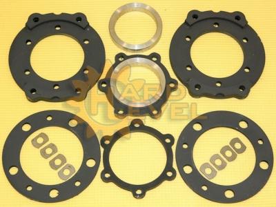 Установочный комплект дисковых тормозов на автомобили УАЗ, редукторные мосты, под суппорта ВАЗ - FRS-469-2325