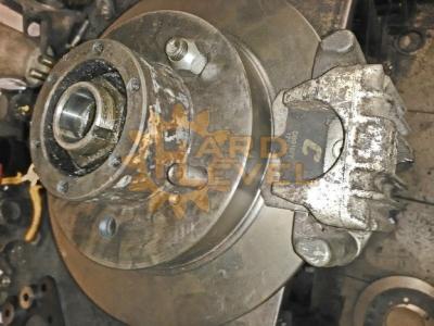 Установочный комплект дисковых тормозов на автомобили УАЗ, редукторные мосты, под суппорт Ауди - HL-469-2510