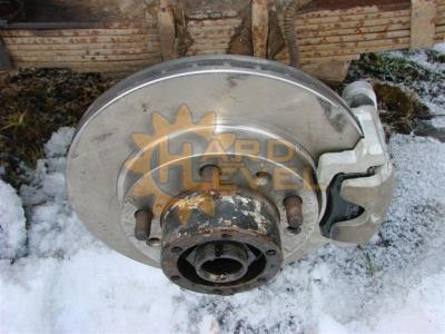 Установочный комплект задних дисковых тормозов на автомобили УАЗ, мосты тимкен / спайсер, под суппорт ВАЗ - HL-3151-2320