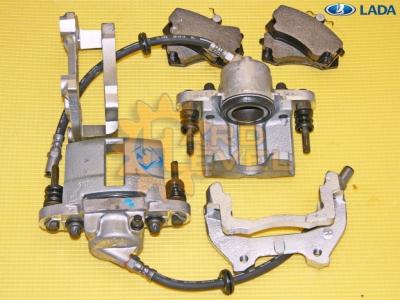 Суппорта 2112 АвтоВАЗ доработанные комплект 11180-3501013-10, 11180-3501012-10