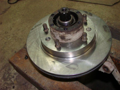Установочный комплект передних дисковых тормозов на автомобили УАЗ, мосты тимкен / спайсер, под суппорт УАЗ - FRS-3151-1110