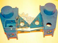 Кронштейн для установки переднего военмоста на УАЗ Патриот HL-469-1619 с верхним расположением продольных тяг и смещением моста на 80мм в разборе