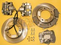 Полный комплект дисковых тормозов на автомобили УАЗ, мосты тимкен / спайсер, под суппорт ВАЗ - HL-3151-2310П