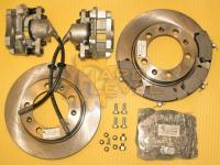 Полный комплект дисковых тормозов на автомобили УАЗ, мосты тимкен / спайсер, под суппорт ВАЗ - HL-3151-2320П