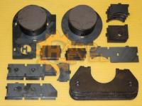 Кронштейн для установки переднего колхозного моста (тимкен) на пружинную подвеску HL-3151-1610