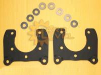 Установочный комплект задних дисковых тормозов на автомобили УАЗ, мосты тимкен / спайсер, под суппорт ГАЗ - HL-3151-2210