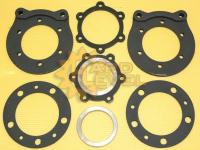 Установочный комплект дисковых тормозов на автомобили УАЗ, редукторные мосты, под суппорт УАЗ - FRS-469-1110