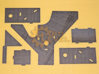 Усиленный кронштейн тяги Панара FRS-3151-1650 в разборе