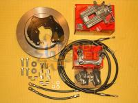 Полный комплект задних дисковых тормозов на автомобили УАЗ Патриот, под суппорт VW - HL-3163-2515П