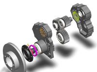 Бортовые (колесные) редуктора - HL-XXX-BR3