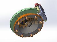 Комплект дисковых тормозов на Volvo C303